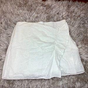 ZARA wrap over mini skirt